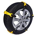 Vococal Catene da Neve Universali, Catena di Emergenza 5PCS Universale Oxford Addensato Emergenza...