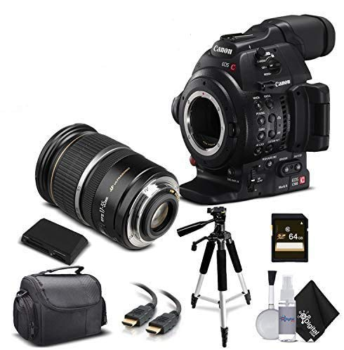 Why Should You Buy Canon EOS C100 Mark II with Dual Pixel CMOS AF 0202C002 & 17-55MM Lens with Memor...