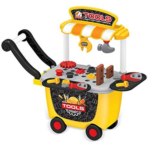 Joyibay Kinder Spielen Spielzeug, Kinder Kit Spielzeug Doktor Werkzeug Trolley Pädagogisch Tue...