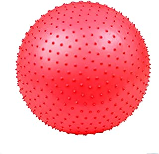 QCRLB Yoga Ball, Child Training Massage Ball Fitness Yoga Ball Thicken Explosion-Proof Pregnant Women Baby Particle Ball (Color : #4, Size : 95cm)