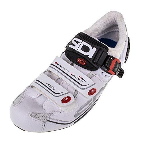 Sidi Genius 7 Fahrradschuhe Herren white/white Größe 42 2017 Mountainbike-Schuhe
