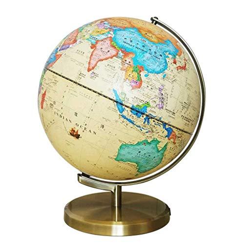 Europeo antiguo globo chino HD e inglés estéreo en relieve lámpara de mesa decoración oficina muebles para el hogar XYJGWSTD