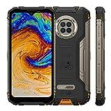 Telephone Portable Incassable, DOOGEE S96 Pro, IP68 Smartphone Portable, Helio G90 8Go+128Go, 48MP Quad Caméra 20MP Vision Nocturne Infrarouge, Écran 6.22, Batterie 6350mAh, NFC, Orange