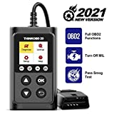 thinkcar Thinkobd 20 OBD2 Scanner, Full OBD2 Functions Automotive Engine Fault Code Reader CAN Scan Tool, Diagnostic Car Code Reader for Check Engine Light, Supports Mode6 O2 Sensor and DTC Lookup