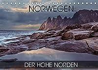 Norwegen - der hohe Norden (Tischkalender 2022 DIN A5 quer): Fotoreise durch den norwegischen hohen Norden (Monatskalender, 14 Seiten )