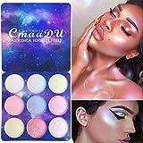 Allbesta Highlighter Palette 9 Farben Illuminator Gesicht Aufhellen Contouring Bronzer Make-up Glow...