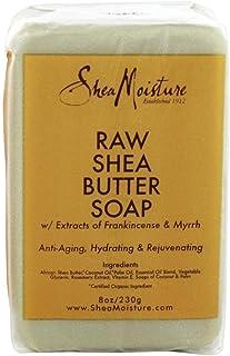 Shea Moisture Raw Butter Bar Soap, 8 Ounce, Pack of 2