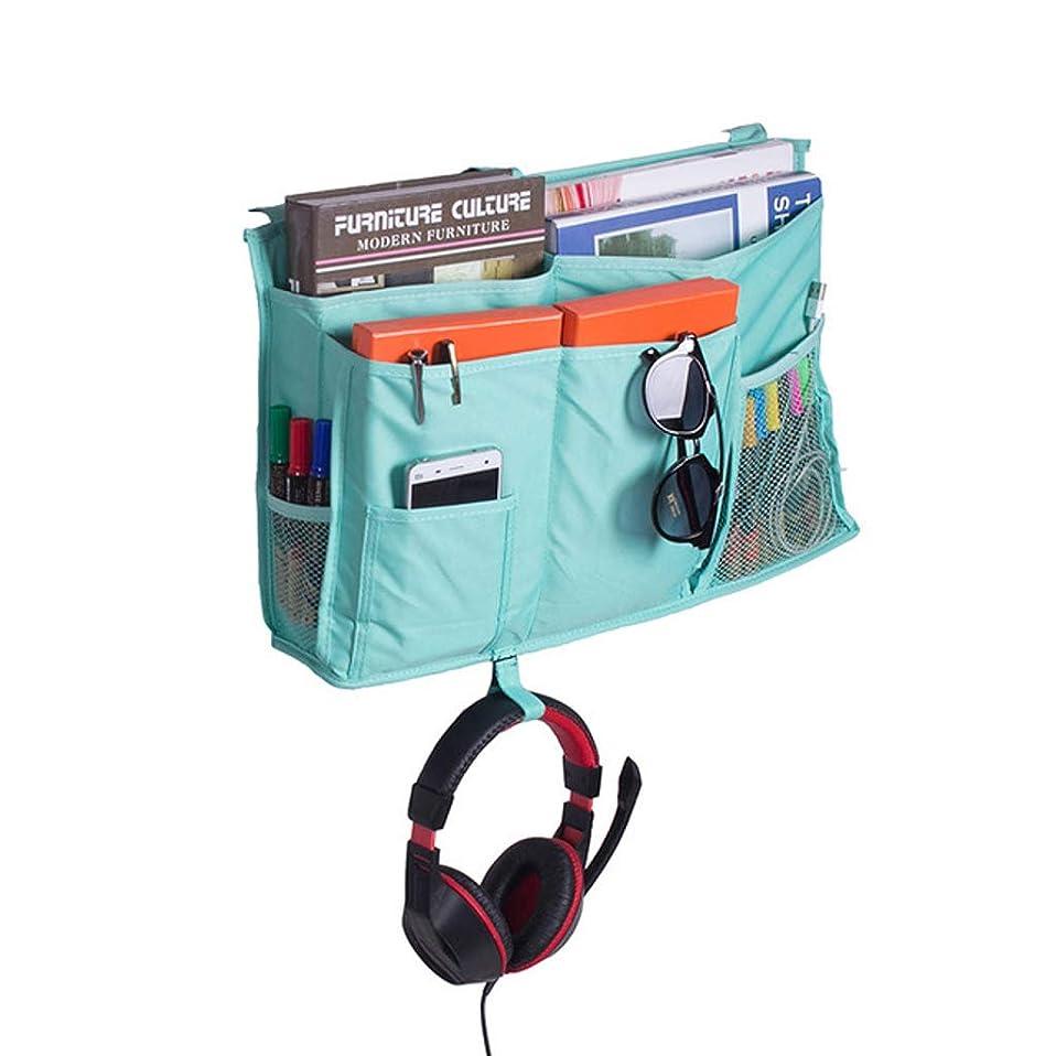 霧深い予測するからかうヘッドボード の の ルーム の ポケット 多目的 の の 主催者 の の ストレージ の の キャビン 寝室 ベッド の 増加する の の 赤ちゃん 電話-水色