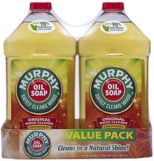 マーフィーOil Soap Oil Soap Concentratedオリジナル木製クリーナー、32オンス、値パックの2)