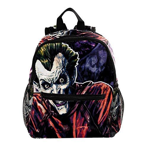 Laptop School Backpack Girls Bookbags Schoolbag for Teens University Travel Daypack,Joker Horror