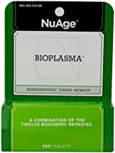 Nuage Homeopathic Bioplasma Tablets, Natural Combination of The 12 Biochemic Remedies, 125 Count