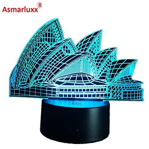 Color de luz Australiano luz de Noche Bombilla de Noche Interior luz de Novedad para Amigos Regalos de niños