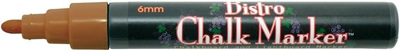 Uchida 480-C-6 Marvy Broad Point Tip Regular Bistro Chalk Marker, Brown