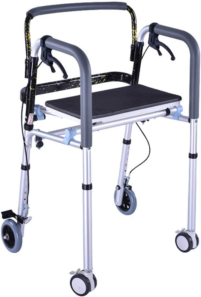 Charlotte Mall GAXQFEI Walker Superlatite Disabled Walking Aids Cane Armrests Elderly Chair