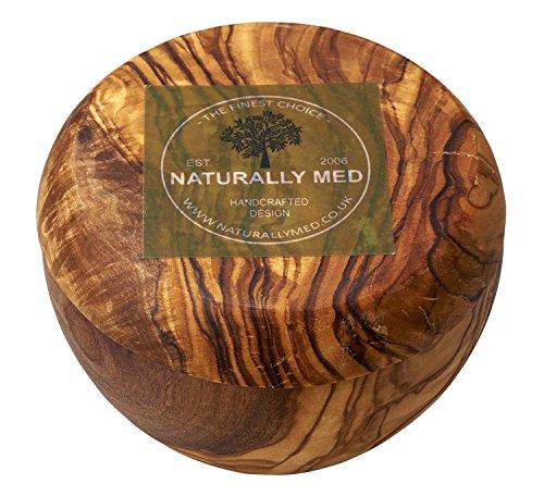 Naturally Med Zuckerdose/Salzbehälter aus Olivenholz