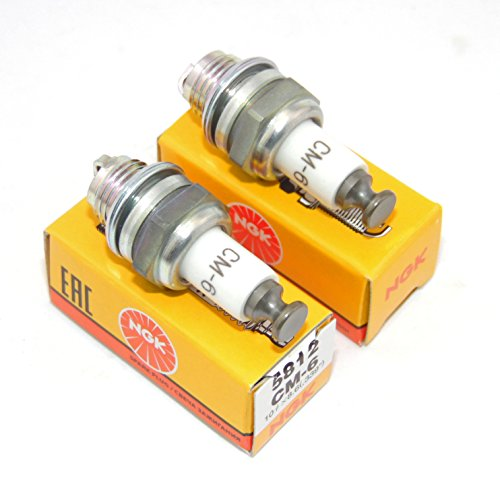 NGK (2) Pack CM6 Spark Plugs