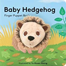 Baby Hedgehog: Finger Puppet Book: (Finger Puppet Book for Toddlers and Babies, Baby Books for First Year, Animal Finger Puppets) (Finger Puppet Boardbooks)
