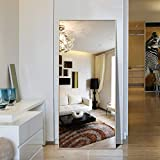Hans&Alice Full Length Floor Mirror, Bedroom Dressing Mirror Standing or Wall Mount (65''x24'')