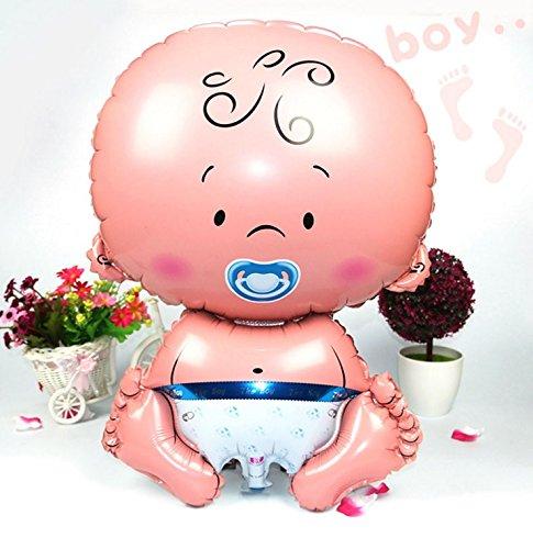 XL Großer Baby Boy Girl Folienballon für Baby Dusche Taufe Neugeborene Geburtstag Party Luftballons