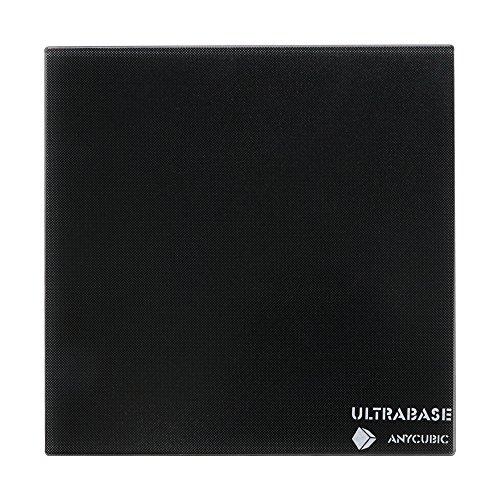 ANYCUBIC Ultrabase Plataforma Impresora 3D Placa de Vidrio con Revestimiento Microporoso para impresión de gran tamaño 310 x 310 mm