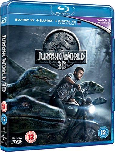 Jurassic World [Blu-ray 3D + Blu-ray] [2015]