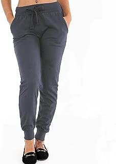 Womens Cotton Jog Pants Skinny Sweatpant Casual Joggers Bottoms Sport Plus Size