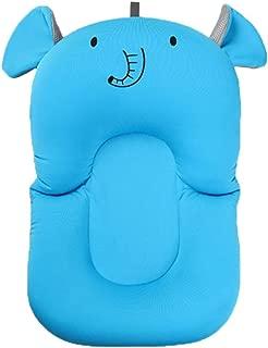 Almohadilla acolchada para la bañera de Domybest, cojín flotante de apoyo para recién nacidos de 0-6 meses Elephant Pattern