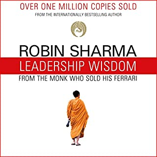Page de couverture de Leadership Wisdom from the Monk Who Sold His Ferrari