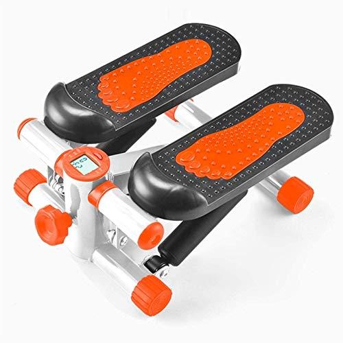 Stepper Fitness aeróbic para el hogar Pequeño estufa de hogares in situ Pérdida de peso multifuncional Equipo de acondicionamiento físico Ejercicio de culturismo Ejercicio Stepper ( Color : Orange )