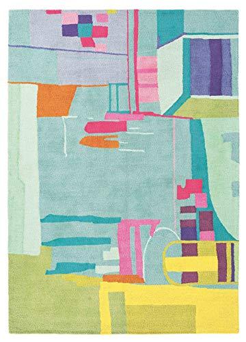 Bluebellgray - Amal 19707 Teppich - 170x240 cm - Rechteckig - Kinder, Kurzflor - Skandinavisch - Mehrfarbig - Für Wohnzimmer, Schlafzimmer, Esszimmer