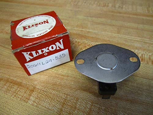 Klixon 20611L29-535 Limit Switch 20611L29535