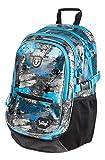 Baagl Schulrucksack für Jungen - Schulranzen für Kinder mit ergonomisch geformter Rücken, Brustgurt und reflektierende Elemente...