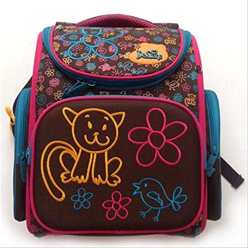 KHDJH Kinderrucksack Cartoon Schule Taschen Rucksack für mädchen Jungen B Design Kinder Orthop sche Rucksack G 3-128