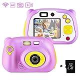 shumeifang Kinderkamera mit kostenloser 32GB TF-Karte,wiederaufladbare Selfie Kamera...