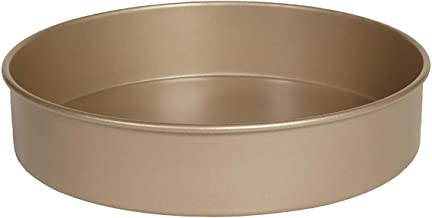 Glad Premium Nonstick Baking Pan – Professional Bakeware, Whitford Gold, Dishwasher Safe, 9 Inches