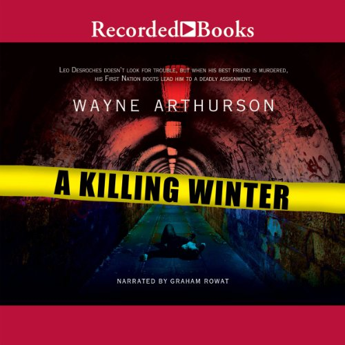 A Killing Winter audiobook cover art