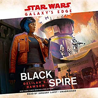 Galaxy's Edge: Black Spire (Star Wars) cover art