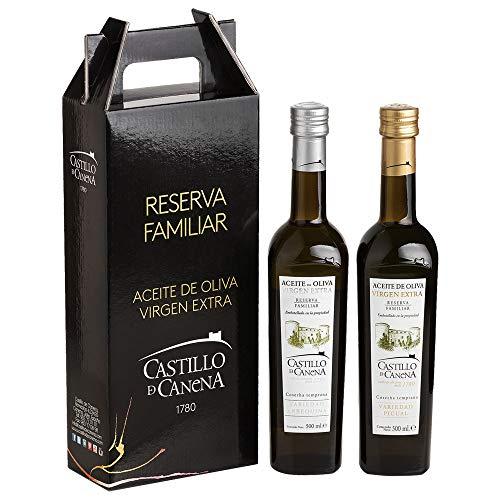 Castillo de Canena Reserva Familiar - Natives Olivenöl Extra - 2 Flaschen 500 ml Arbequina und Picual