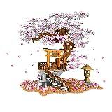 siqiwl Bloques de Construcción 1167PCS City Street View Building Blocks Idea Sakura Stall Cherry Blossom Landscape House Juguetes compatibles