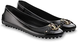 b892a68fd38 LV Louis Vuitton Dauphine Ballerine Flat Shoes 39   US 9 Black