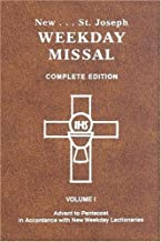 St. Joseph Weekday Missal, Complete Edition, Vol. 1, Advent to Pentecost by Catholic Book Publishing Co (5/15/2012)