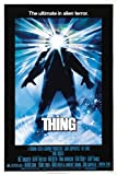 The Thing John Carpenter's 1982 Horror Movie Film Plakat,