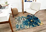 Anji Mountain Rug'd Collection Chair Mat, 40 x 54-Inch, Bilbao