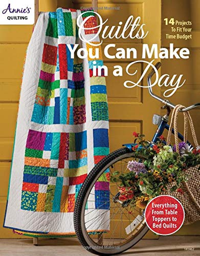 Quilts You Can Make in a Day: 14 Projects to Fit Your Time Budget