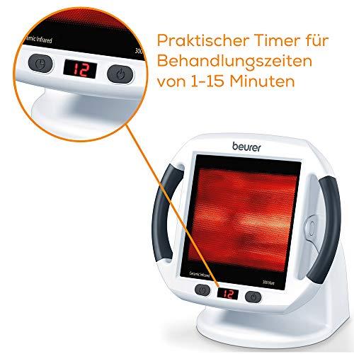 Beurer IL 50 Infrarot-Wärmestrahler Infrarotlampe zur Behandlung von Erkältungen Bild 4*
