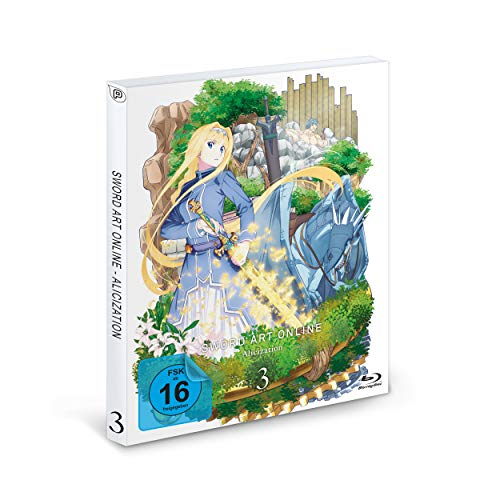 Sword Art Online: Alicization - Staffel 3 - Vol.3 - [Blu-ray]
