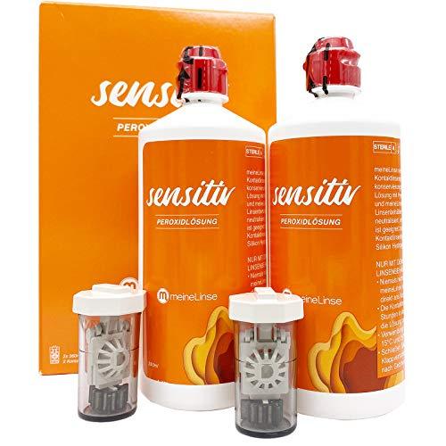 meineLinse (ehemals Oculsoft®) Sensitiv Peroxid Großpackung 2 x 360ml