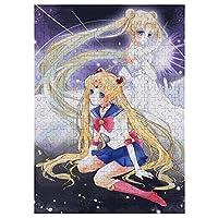 美少女戦士セーラームーン ジグソーパズル 木製ジグソーパズル パズル 木製パズル大人用 パズル子供用 人気 不安とストレス解消パズル(300pcs/500pcs/1000PSC)