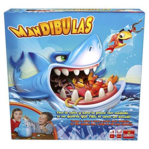 Goliath Mandibulas La pesca más divertida, Juego de mesa infantil, A partir de 4 años
