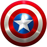 Captain America Shield Metal Captain America Costume for Adult Shield 24 inch Replica Cosplay Movie Props
